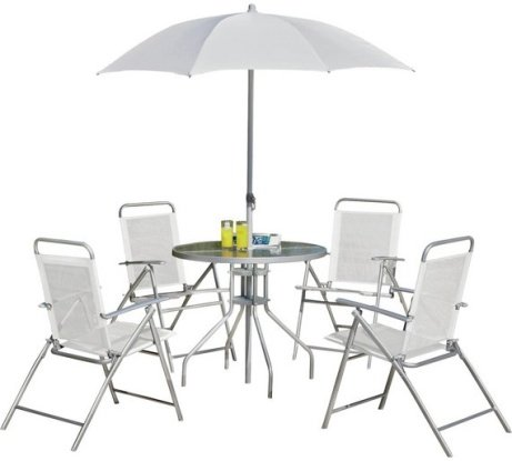 NEW PRICE - Simple Value 4 Seater Patio Furniture Set - ONLY £59.99!