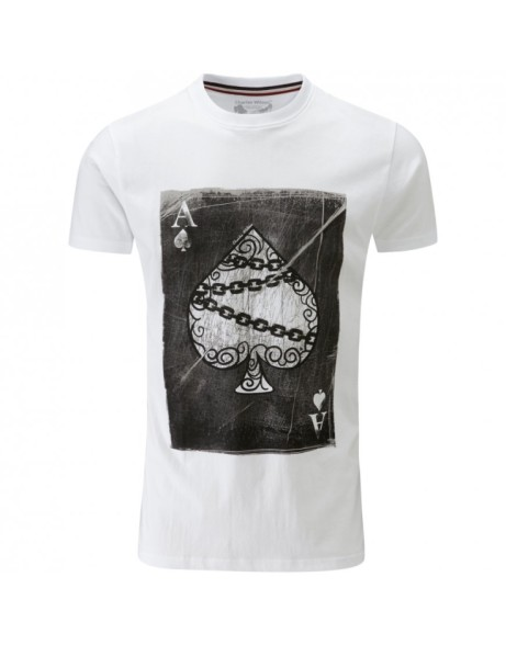 This awesome playing card T-shirt is only £1.95