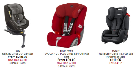 SAVE up to 50% on Car Seats at Uber Kids this Summer!