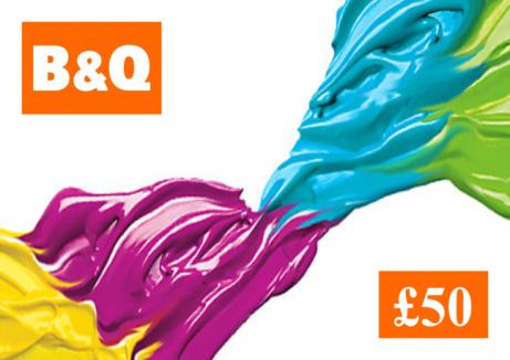 WIN - £50 B&Q Gift Card