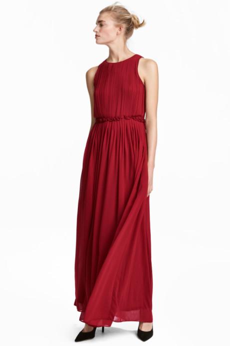 SALE - Long chiffon dress: Save £25.00!