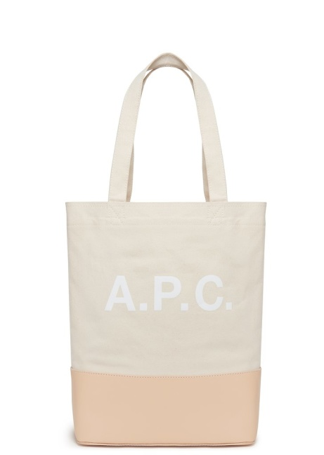 SAVE £108.00 -  A.P.C. SS18 Axel Selvedge Denim Tote in White!