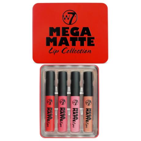 SAVE 60% on W7 Mega Matte Lip Collection!