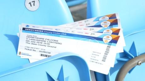 Win 4 Vitality Blast tickets for Derbyshire vs Lancashire