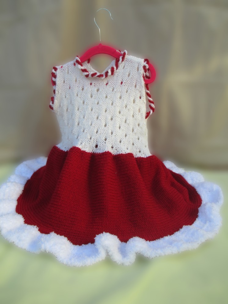Limited edition knitted dress