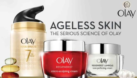 Save 1/3 on selected Olay!