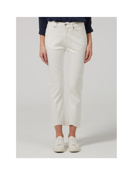 Donna Ida Sidney Cropped Straight Jeans – Milk £165.00!