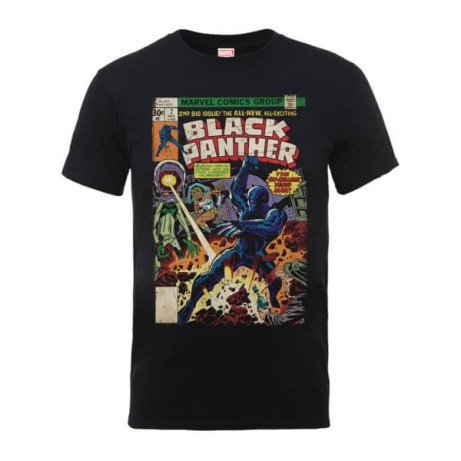 SAVE: £8.00 on our T-Shirt of the week. Marvel Comics The Black Panther Big Issue T-Shirt