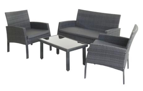 OVER 25% OFF - Wilko Garden Rattan Lounge Set!