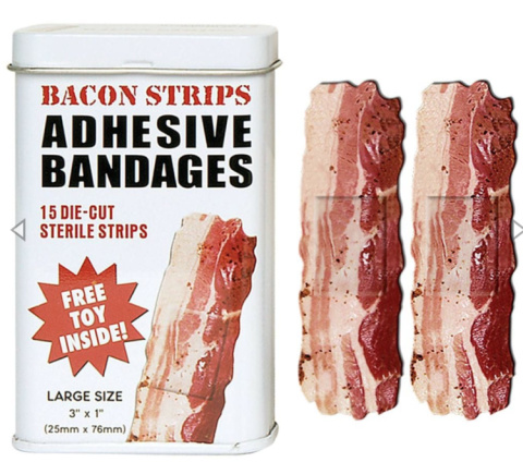 #MondayMadness - WIN - Bacon Plasters