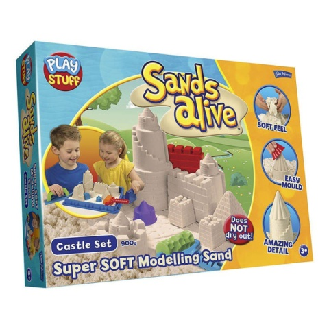 CHRISTMAS GIFTS - SANDS ALIVE SUPER SANDS CASTLE!