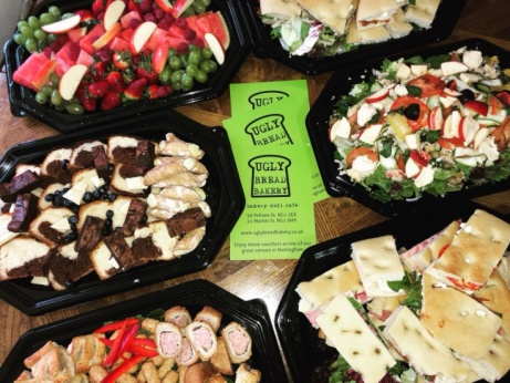 Outside catering by ugly bread bakery... we can cater for nearly every occasion!