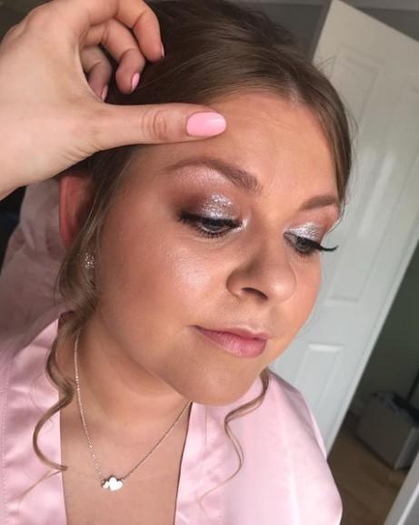 Stunning bridesmaid makeup; call to book!