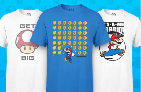 FREE GIFT when you buy Official Nintendo Apparel!