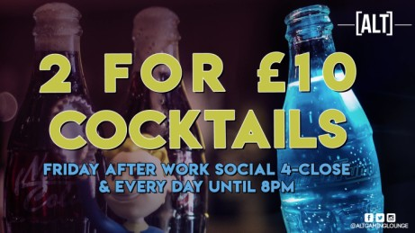 It's Friday! - We've got 2 For £10 Cocktails ALL NIGHT!