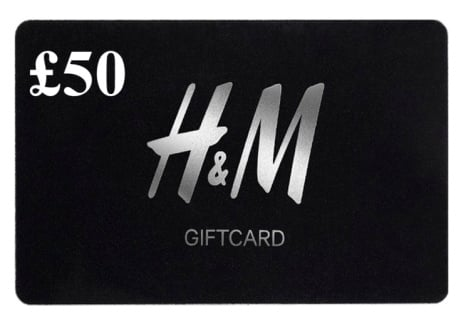WIN a £50 H&M Gift Card