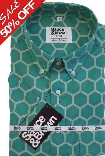 50% off This Summers must have shirt Large Hex shirt!