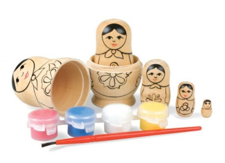 Paint your own Russian Dolls - ONLY £15!