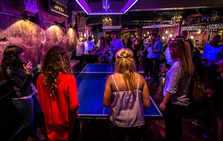 SUPERSTAR IN THE MAKING? CHALLENGE YOUR FRIENDS AT PING PONG