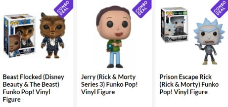 3 Funko Pop figures for ONLY £25 - SAVE up to 45%!