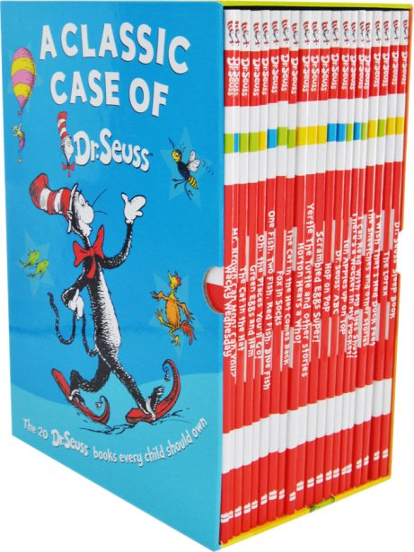 SAVE 75% on this A Classic Case of Dr Seuss - 20 Book Box Set!
