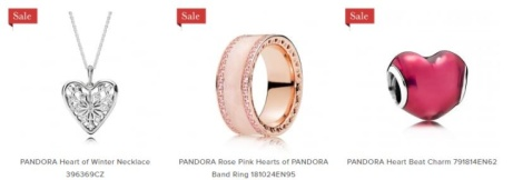 SAVE Up to 50% off PANDORA! new lines added
