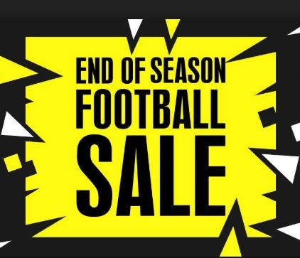 Save up to 90% off with the END OF SEASON SALE!