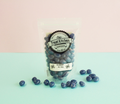 Shop Jelly Beans section: Blueberry Pie Flavoured Jelly Beans pouch - £2.95!