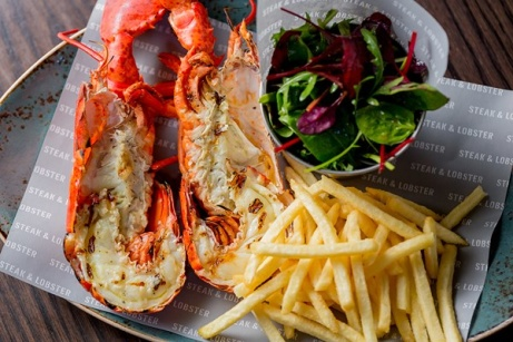 EXCLUSIVE - Dinner with a Bottle of Prosecco for Two at Steak and Lobster, London!