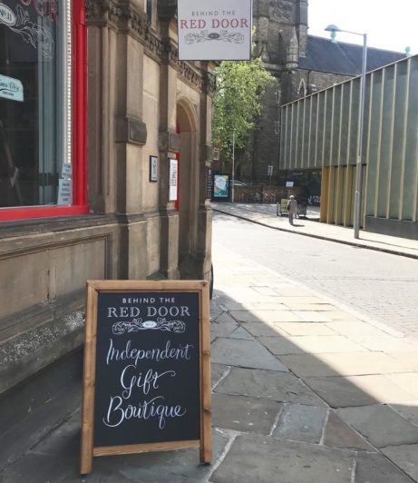 We have a lovely new board outside the shop! (Honestly it's the little things in life...)