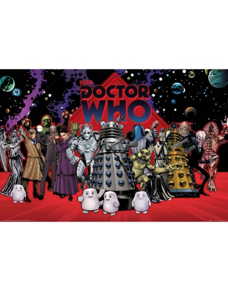 SAVE 50% OFF DOCTOR WHO COMPILATION MAXI POSTER!