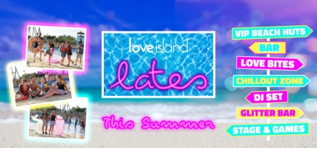 LOVE ISLAND Lates .. the ULTIMATE Fan Experience at Thorpe Park - ONLY £10!