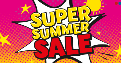 Shop our Super Summer Sale and SAVE up to 50%!