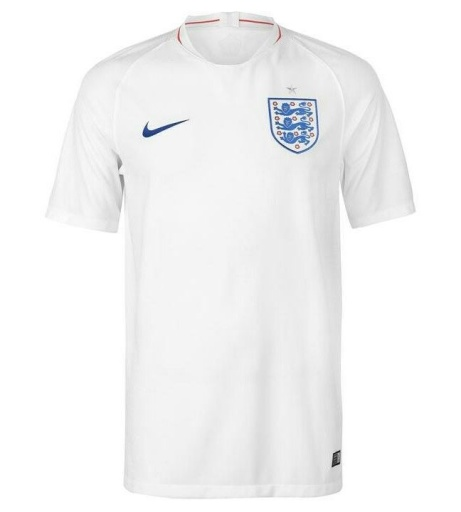 Save £5 on the 2018-2019 England Home Nike Football Shirt. Get ready for the 2018 World Cup!