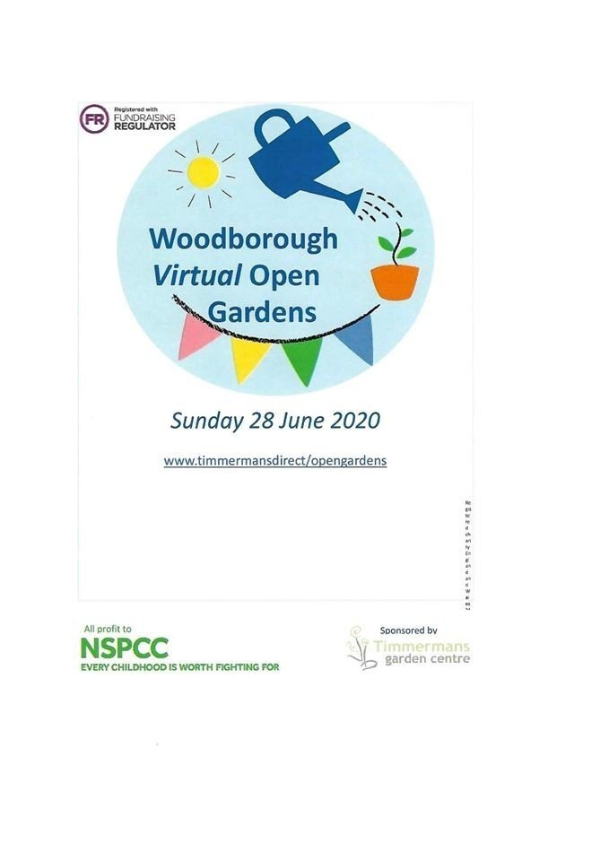 Woodborough Virtual Open Gardens is now live!