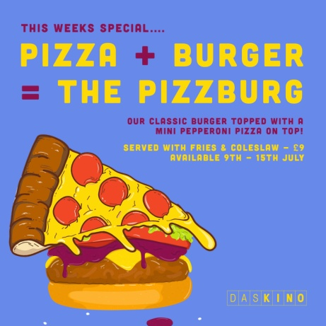 WEEKLY SPECIAL - THE PIZZBURG!