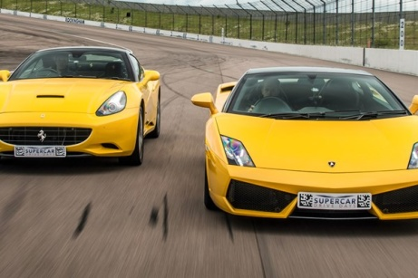 40% OFF - Double Supercar Driving Blast with Free High Speed Passenger Ride!