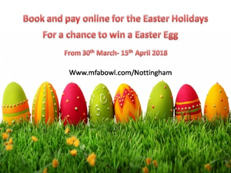 Taking Bookings now for the Easter holidays.