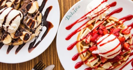 Try our Crepes & Waffles from just £6.25!