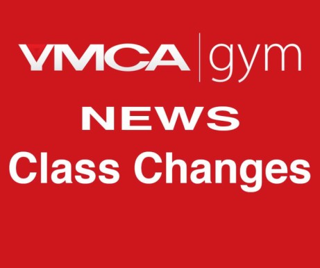 Change of Class Times for YMCA gym