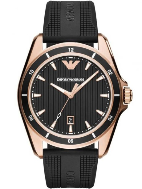 EMPORIO ARMANI MEN'S RUBBER STRAP WATCH £219.00!