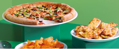 Papa's Meal Deal - Pizza, Wedges & Pizza Sticks ONLY £12.99!