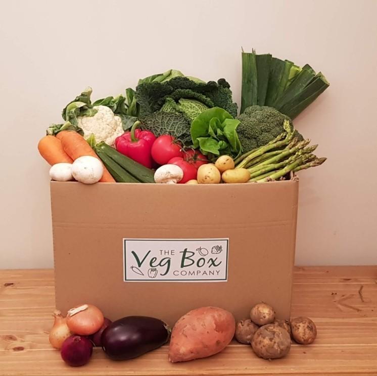 The Large Veg Box - £26.00