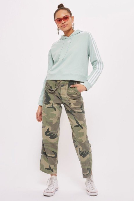 90's Camo is back - Camouflage Utility Trousers £42.00!