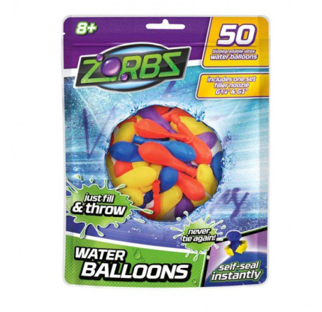 75% OFF - Zorbs Self-Sealing Water Balloons!