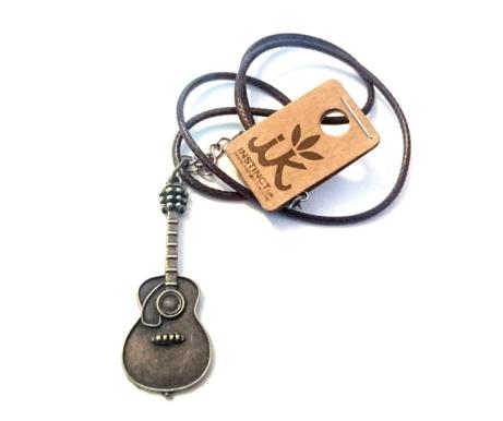 WIN - Acoustic Guitar Pendant Necklace