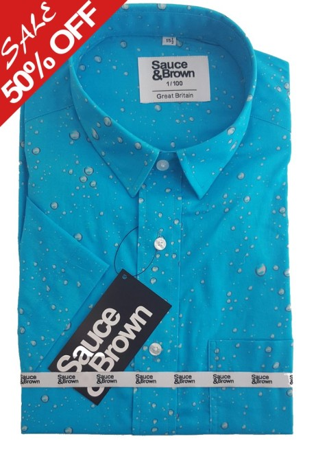 50% off this Men's Water Drops Shirt