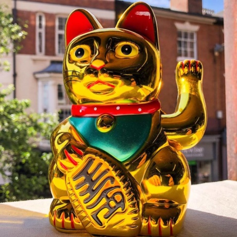 Waving cats only £6.99 from Ice Nine Nottingham