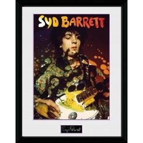 New Sid Barrett Guitar Collectors Print