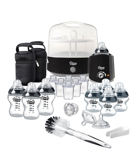 SAVE £85 on Tommee Tippee Closer To Nature Complete Feeding Kit in White or Black!